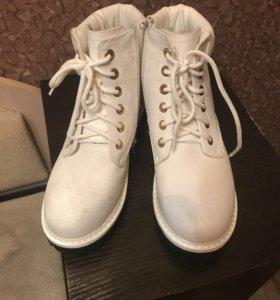 Ботинки зимние, тимберленды