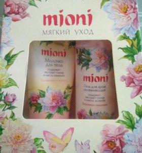 "НАБОР гель для душа +молочко для тела ""Mioni"""