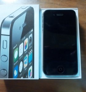 iPhone 4S 16 Gb Black новый, Оригинал