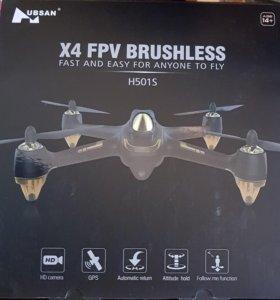 Квадрокоптер (дрон) 😉