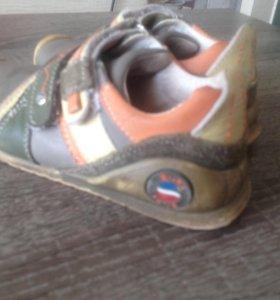 Детские кроссовки,Нат.кожа