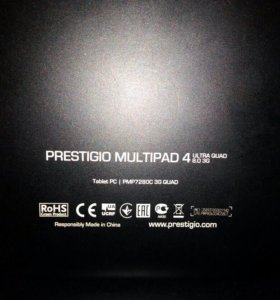 Prestigio multipad 4