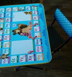 Стол и стул для детей