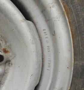 Один диск с резиной