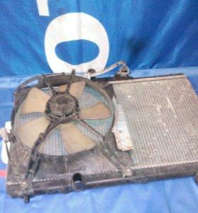 Радиатор, Toyota Sprinter Carib, 7A-FE, AE-115