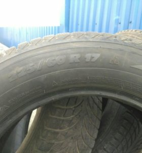 Michelin latitude alpine 2. 225/60/17