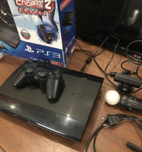 Игровая консоль PS3 Super Slim 500GB
