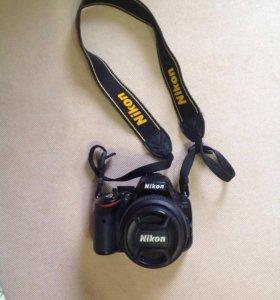 Цифровая фотокамера Nikon D5100F