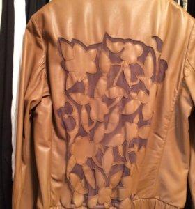 куртка кожаная ESCADA