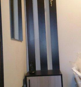 Мебель для прихожей, вешалка-галошница