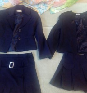 Школьные пиджаки и юбки134