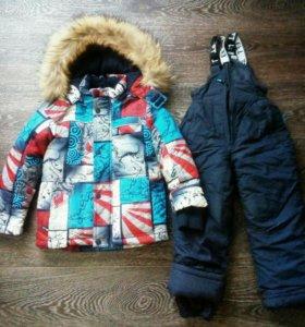 Куртка зимняя (со штанами-комбинезоном)