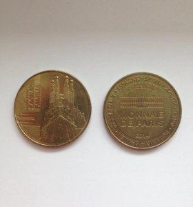 Монеты Sagrada Familia