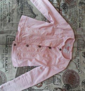Розовая джинсовка