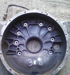 Кожух маховика плита задняя D0836LF01 MAN