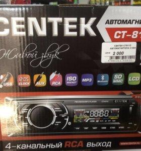 Автомагнитола Centek . Bluetooth, AUX, USB