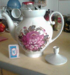 Чайник заварочный   фарфоровый