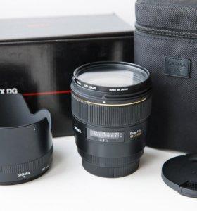 Sigma 85mm F1.4 EX DG HSM на Canon