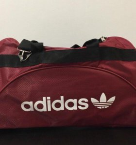 Сумка Adidas бордовая