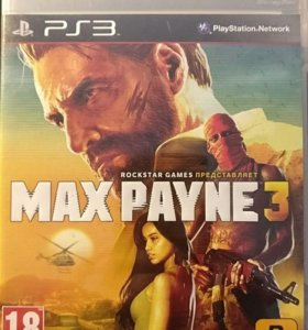 Max Payne 3 PS3 sony playstation