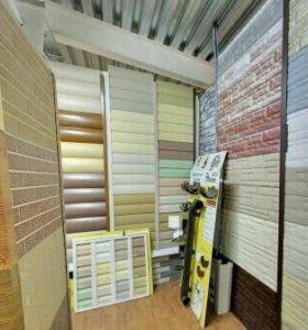 Сайдинг Доке, блок хаус, цвет- карамелька