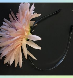 Обруч для волос новый цветок