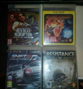 Диски игры на PS 3
