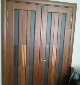 Двери натуральные шпонированные межкомнатные
