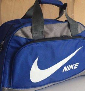 Сумка синяя с серым Nike