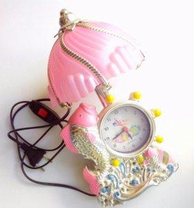 Часы-светильник+будильник