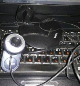 Микрофон с камерой