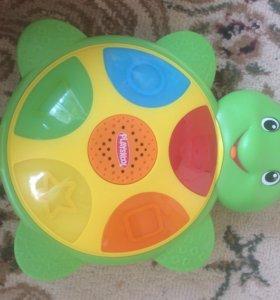 Музыкальная интерактивная развивающая черепаха