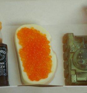 Бутерброд с красной икрой - мыло ручной работы