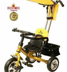 Новый велосипед-коляска