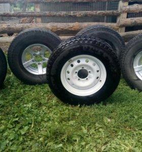 Колеса на УАЗик R15