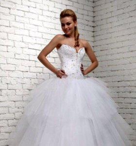 Пышное Свадебное платье 👰🏼