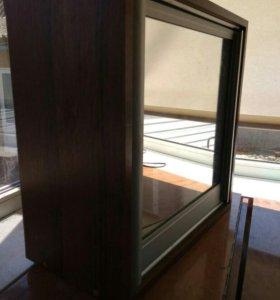 Шкафчик навесной , зеркальный