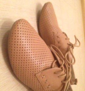 Лёгкие ботинки на лето