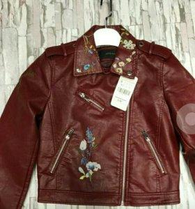 Кожаную куртка косуха