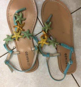 сандалии 37 размер