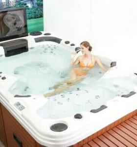 SPA бассейн для коттеджа, гостиницы.