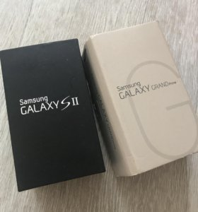 Samsung Galaxy коробка упаковка