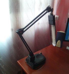 Люминесцентный светильник Дельта-1 черный (PL, 11W