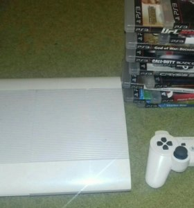 Playstation 3 Slim 500gb 18игр