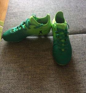 Футбольные бутсы Adidas x 16.3 Turf Boots Junior.
