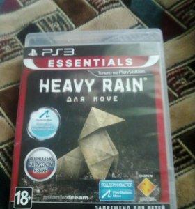 Продам игру на ps3 heavy rain на русском языке