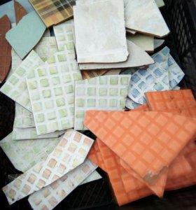Плитка бой, для мозаики