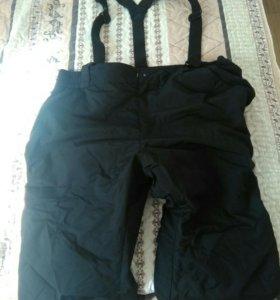 Горнолыжные штаны Glissade ski wear 60-62, лямки