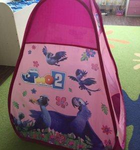 Палатка для девочки и мальчика