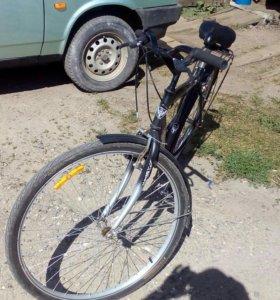 Велосипед взрослый шести скоросной